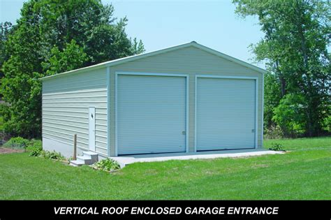 Metal Shed Garage by Garage Steel Buildings Decatur Il Metal Buildings