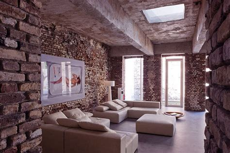 brick wall living room 10 brick walls living room interior design ideas https interioridea net