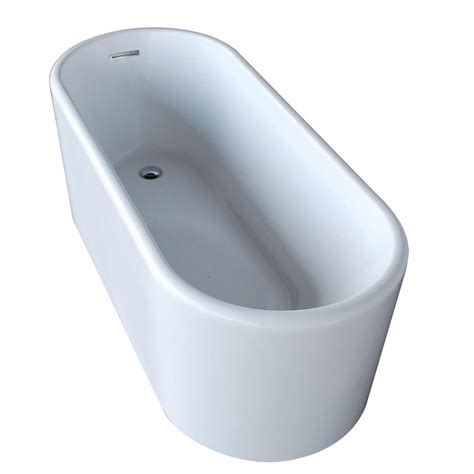 Homedepot Bathtubs by Universal Tubs Purecut 5 6 Ft Acrylic Reversible Drain