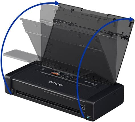 Printer Epson Workforce Wf 100 epson workforce wf 100 wireless mobile printer import it all