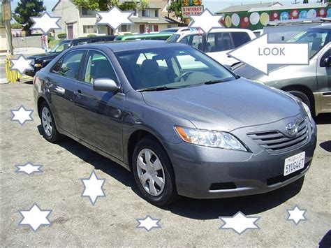 Toyota Camry 2007 Mpg Toyota Camry 2007 0 Mileage 85001