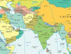 Western Asia Map by South West Asia Map Southwest Asia Map Freedom And