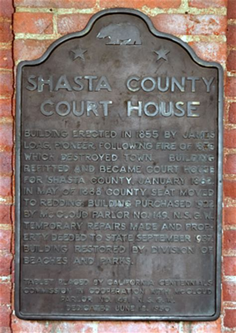 Shasta County Court Search Point Of Historic Interest In Shasta State Historic Park California Shasta