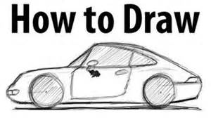 How To Draw A Porsche All Comments On How To Draw A Porsche 911 993 Sketch
