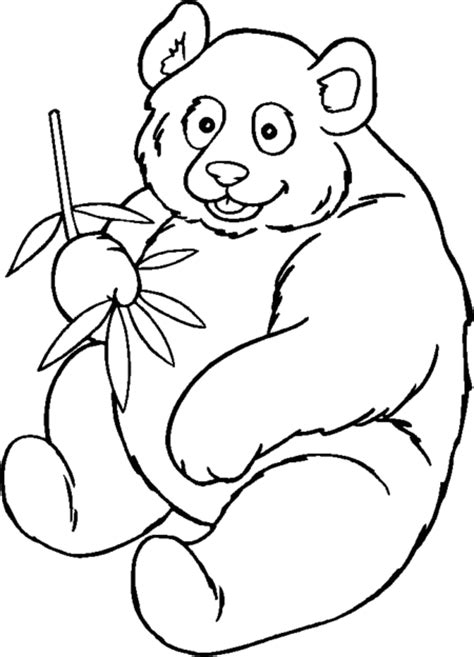 coloring page panda bear cute panda bear coloring pages for kids gt gt disney coloring