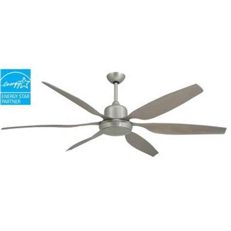 troposair ceiling fans troposair titan 66 in brushed nickel indoor outdoor