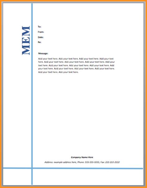 Memo Template For Word Mac 5 Microsoft Word Memo Template Mac Resume Template