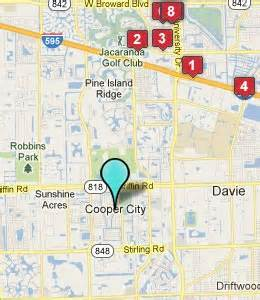 cooper city florida map hotels motels near cooper city fl see all discounts