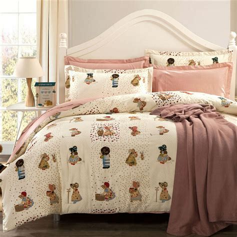fitted bed coverlet cartoon bedspread home textiles brand quilt cover coverlet