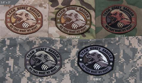 The Other Uk Version Bee Us Version honey badger patch tactical kit