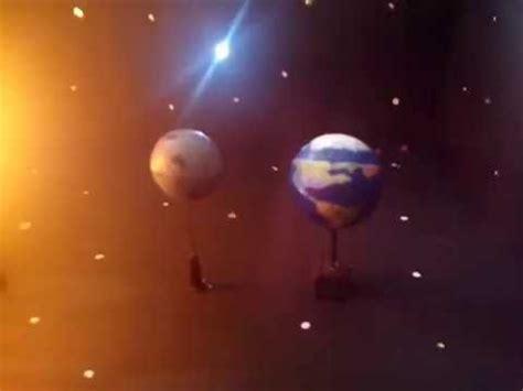 como hacer una maqueta del ecplise solar y lunar maqueta de eclipse solar youtube