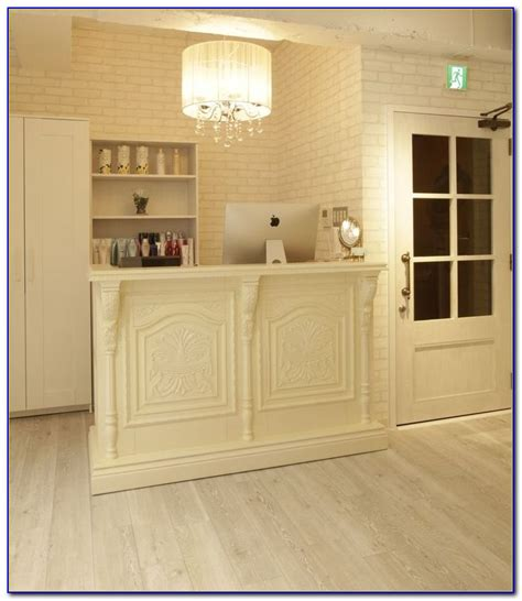 Hair Salon Reception Desk Ideas Desk Home Design Ideas Hair Salon Reception Desk