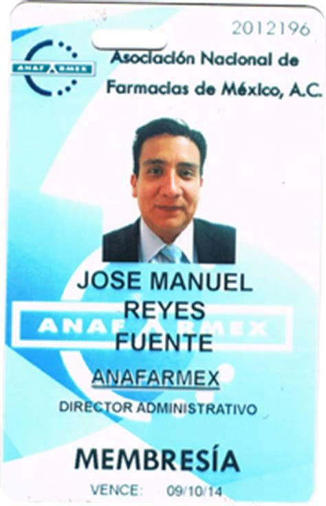formato para credenciales de trabajo beneficios anafarmex