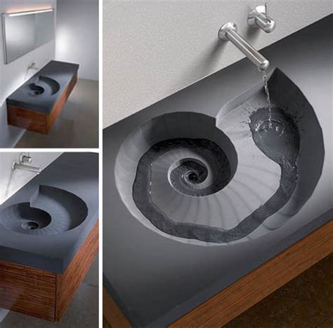 sink designs brilliant spiral sink and wash basin design