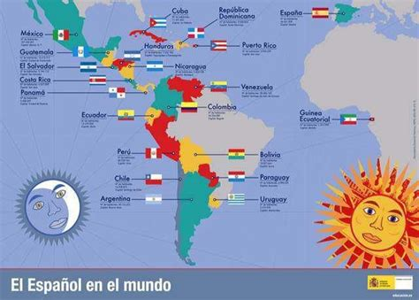 speaking countries around the world los pa 237 ses de habla hispana speaking countries