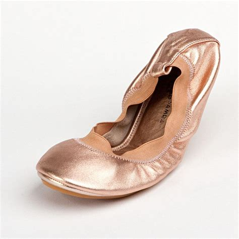 pointe shoe inspired flats diy give your flats a ballet inspired look aol lifestyle