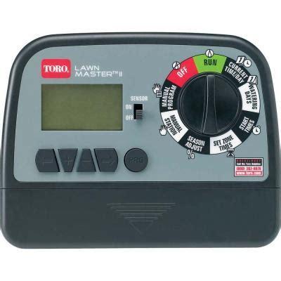 toro lawn master ii 6 zone sprinkler timer 53806 the