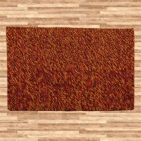 pebble rug buy felt pebble rug rustic 200x300cm online the real rug
