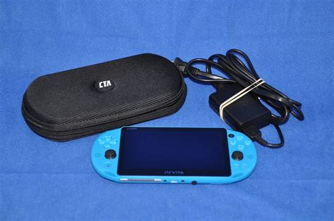 Psp Pch 2001 - sony playstation vita wifi ps vita slim handheld blue console pch 2001 game we luv