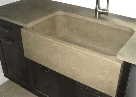 Concrete Kitchen Sink 17 Best Images About Awesome Concrete On Pinterest Sinks