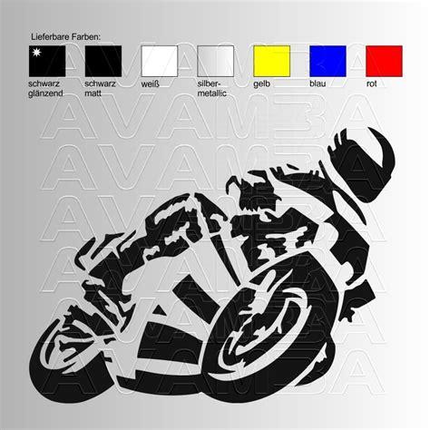 Motorrad Aufkleber 3 Cm by Motorrad Racer Aufkleber Sticker Avamba Oldtimer