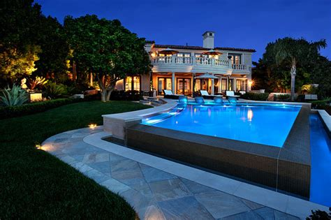 cool houses with pools awesome cool dreamy home pool image 314749 on favim com