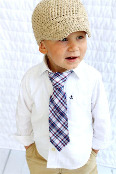 new boy s wedding blue plaid tie ring bearer tie toddler