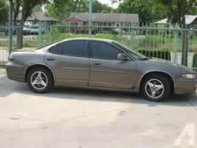 2001 Pontiac Gt 2001 Pontiac Grand Prix Gt For Sale In Houston