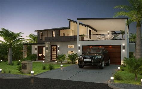 modern house front modern form house front elevation dma homes 15900