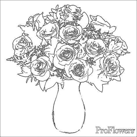 free coloring pages for adults roses roses coloring pictures 2 gif 800 215 800 coloring pages