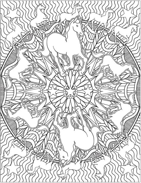 kaleidoscope coloring pages for adults animal kaleidoscope designs coloring book dover