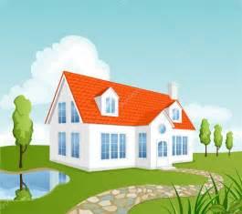 Cottage House Plan vector house stock vector 169 nata danilenko 3093403