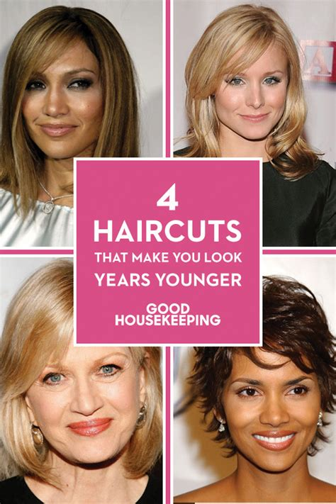easy hairstyles that make you look younger easy hairstyles to make you look younger hairstyles by