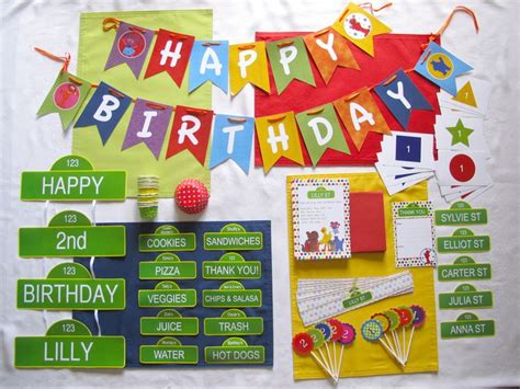 sesame banner template food for sesame search harry s birthday ideas search
