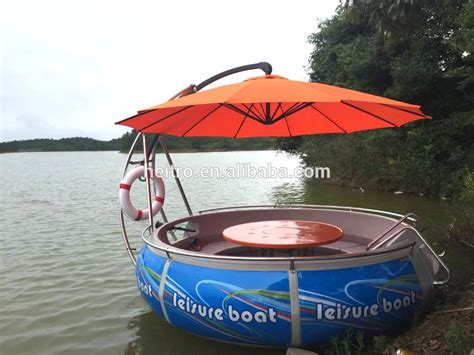 floating boat bbq party grill boat floating bbq donut boat for sale buy