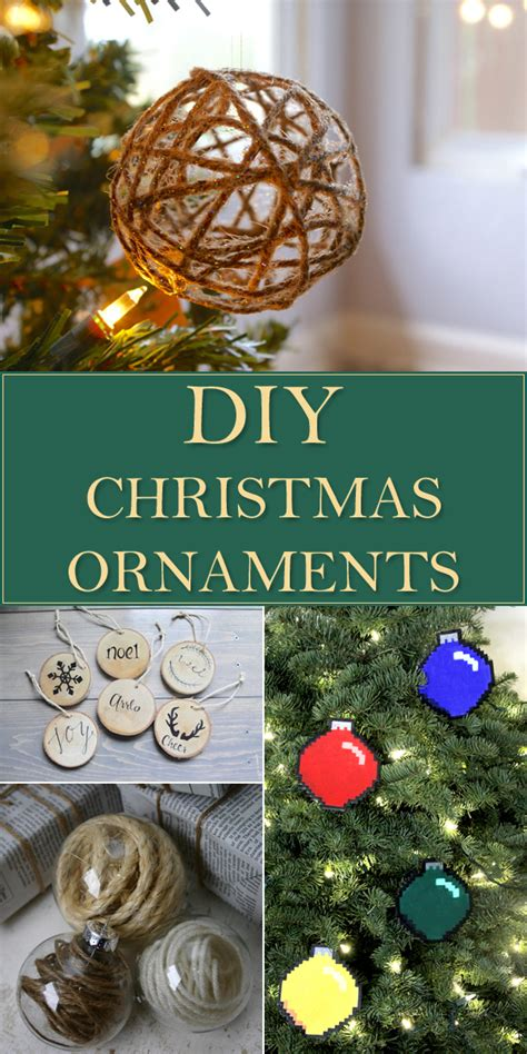 20 easy fun affordable christmas ornaments anyone can make