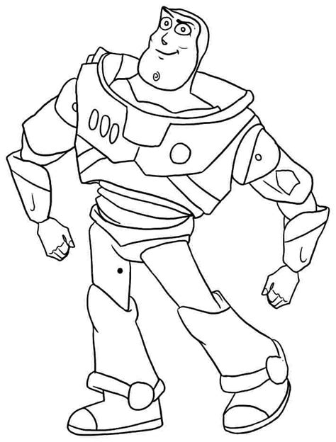 buzz lightyear color page az coloring pages