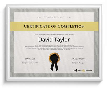 20 free certificate templates for word certifreecates