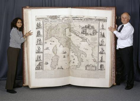 the world books behold the largest atlas in the world the six foot