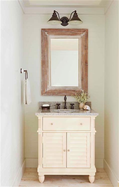 Farmhouse Powder Room by Bathrooms Farmhouse Powder Room By Lowe S Home