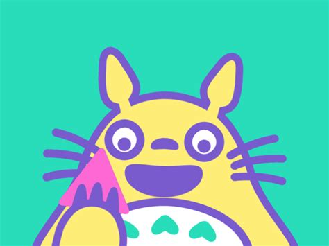layout animation vs animated following back my neighbor totoro gif find share on giphy