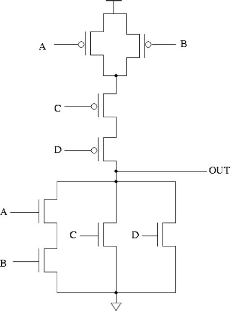 transistor level and gate problem set 2