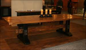Reclaimed Dining Room Tables Reclaimed Wood Trestle Dining Room Table Dining Room Tables Modern Sets Glass