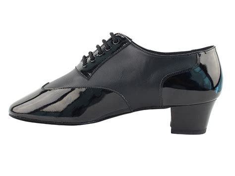 cm100101 black patent black leather heel