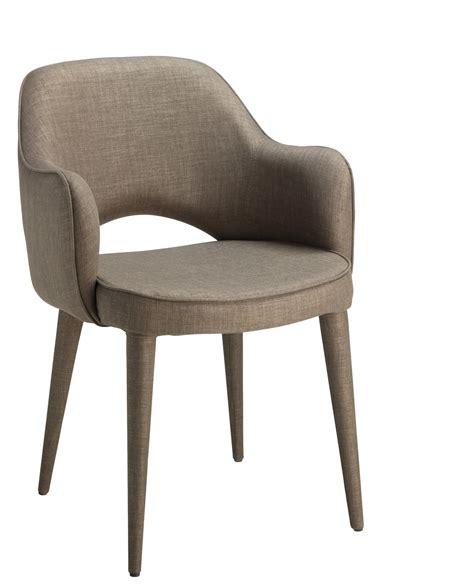 chaise tissu avec accoudoir chaise donna avec accoudoir tissu taupe console bureau