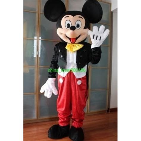 mickey mouse costume mickey mouse mascot costume hire