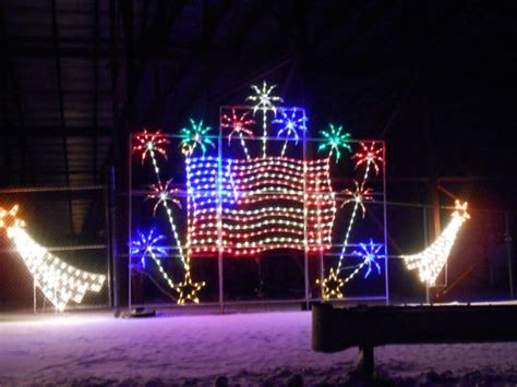 nh speedway christmas lights the new hshire motor speedway s gift of lights will