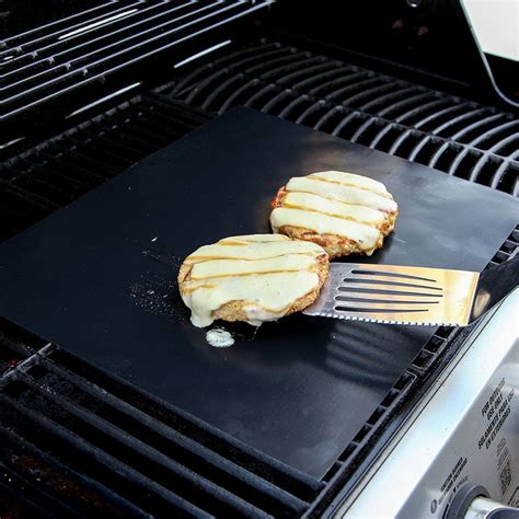 Barbecue Grill Mats by 2pc 400x330mm Reusable Bbq Grill Mat Liner Oven Baking