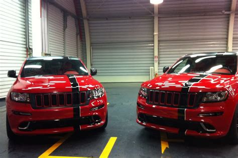 ferrari jeep ferrari flavored jeep grand cherokee srt8