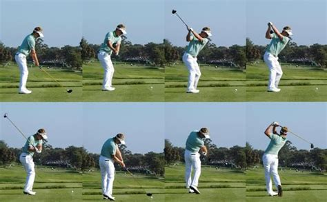 balance golf swing luke donald golf swing great tempo and balance golf
